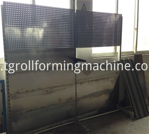 Shelves Sheet Panel Roll Forming Machine
