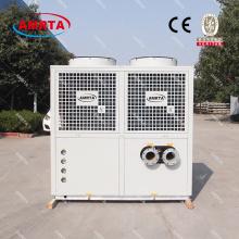 Низкотемпературный чиллер пивоваренного завода R404A с воздушным охлаждением промышленный