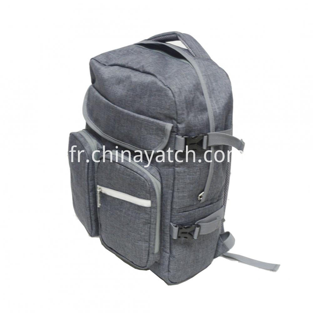 Multi Pockets Backpack