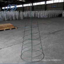 Cage de tomate de haute qualité en métal de 56 pouces