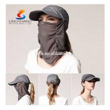 Sun protección UV mágica al aire libre fresco máscara facial headwear multifunción pesca camping sombrero y gorra