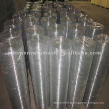 Black Iron Wire Welded Mesh (Fábrica) usado como cercas, decoração e assim por diante