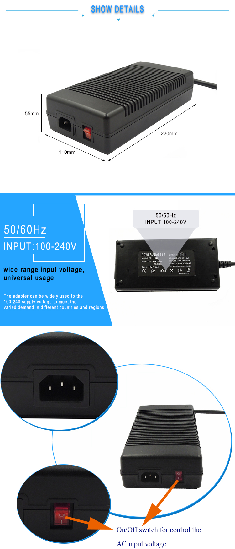 PFC power supply adapter
