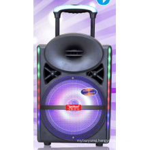 12inch Rolling Rechargeable Bluetooth Active PA Speaker System with Party Cx-17D