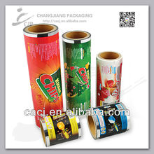 High quality colored plastic film on roll for lamination all kinds of packaging with gravure printing