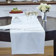 Weißer Hotel Tischläufer (DPFR80129)