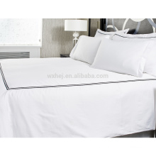 decorative duvet cover set for hotel/home with dot/knot/chain/fretwork pattern