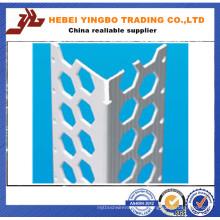 Rust-Proof Straight Stucco Metal Esquina de alambre de malla de alambre