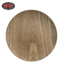 Wood Surface Plastic Charger Plate