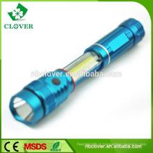 Lanterna de liga de alumínio, tocha lanterna zoom, lanterna zoomable
