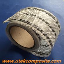 8 cm de largeur 200G / M2 Ruban hybride en fibre de verre en carbone