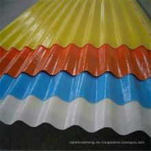 Hoja de techo compuesto de lámina de techo FRP