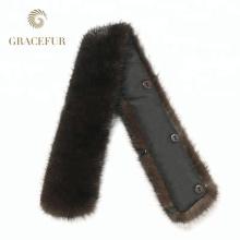 Китай поставщиком онлайн-шоппинга дешевые натуральный мех Рекс кролика меховой воротник для пальто