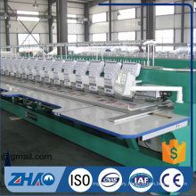 Flat Computerized embroidery Economical flat machine price for sale