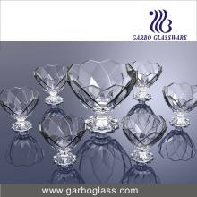 7PCS Ice Cream Bowl Set Glassware (TZ7-GB16039)