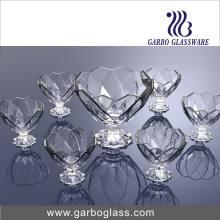 Cristalería determinada del cuenco del helado 7PCS (TZ7-GB16039)