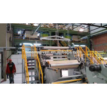 AL-1600mm SMS PP Nonwoven Fabric Making Machine
