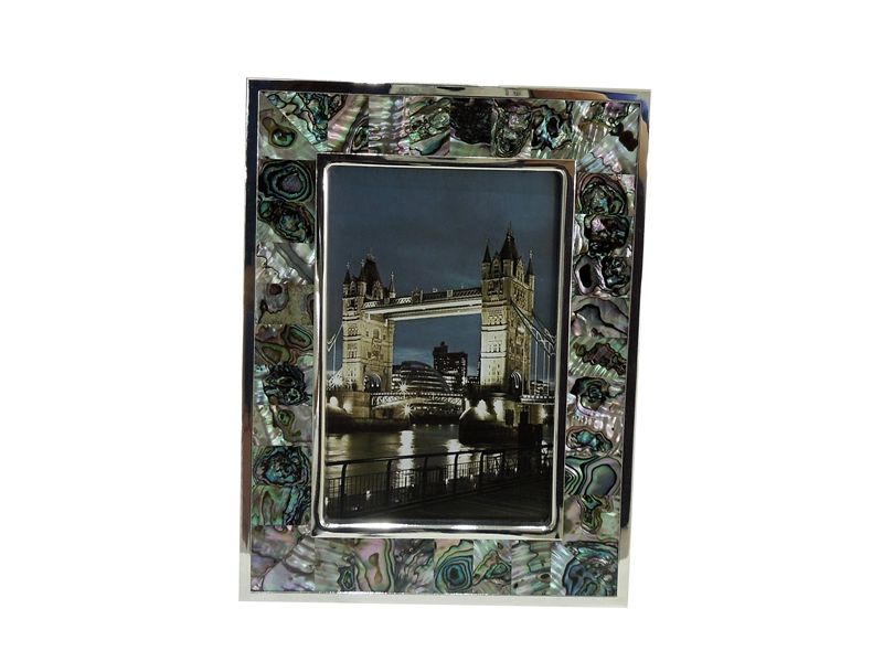 abalone shell photo frame