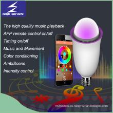 Luz de bulbo LED Smart Smart Smart Bombilla LED