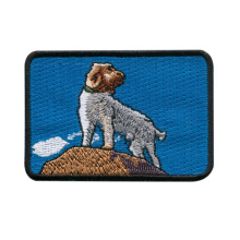 Embroidered Animal Patches with Overlocking Edge