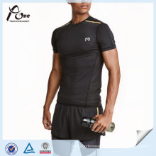 Short-Sleeved Running Top Wholesale Custom Gym Wear for Man