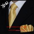 Good Quality Silk Jacquard Woven Man Gift Set Tie and Handkerchief