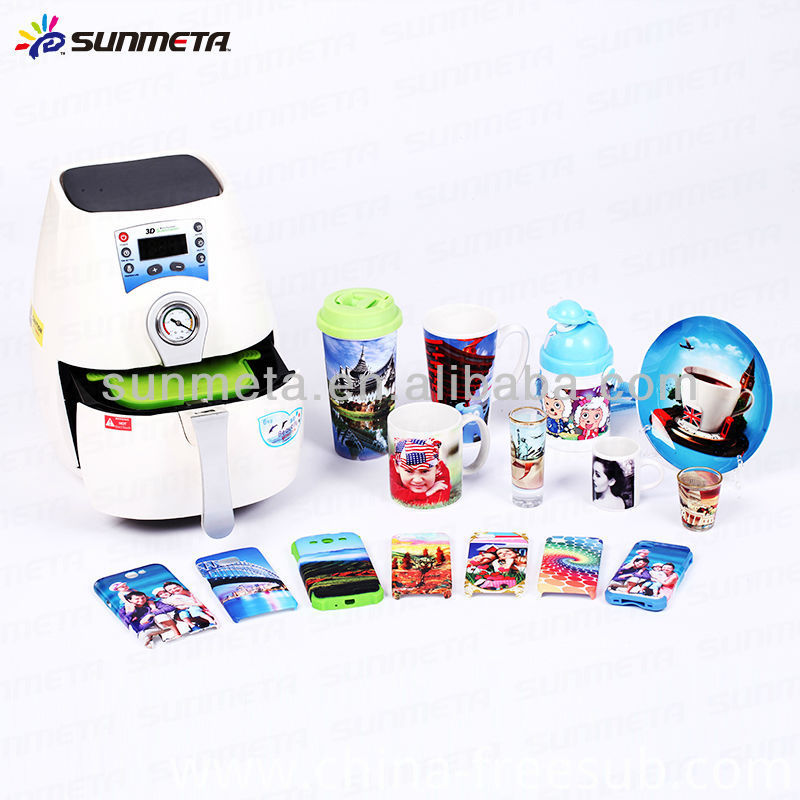 Sunmeta 3D Sublimation Vacuum Press Machines