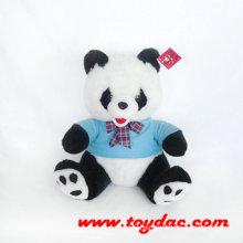 Stuffed T-Shirt Panda Toy
