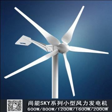 Sistema de energia híbrido solar de vento em casa