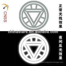 heat transfer customized reflective brand