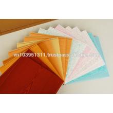 Tamanho 250 mm (largura) * 5 mm (espessura) Painel de teto de folha oca de PVC do Vietnã