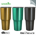 30oz Deluxe Double Wall 18/8 Stainless Steel Tumbler