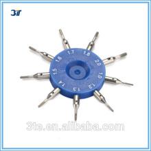 Medidor de agujero óptico Medidor de hilo interno y externo