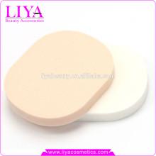 hot sale free samples sbr makeup sponge, round shape makeup sponge 2015