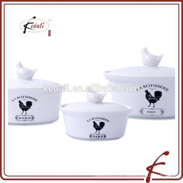 2016 venda quente de cerâmica jogo de caçarola para cozinha