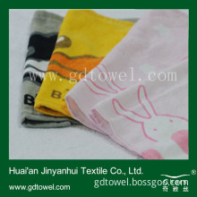 Cotton Face Towels,Small Size with Reactive Printing Face Towel (Y141)