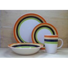 Ceramic Hand-Painted Cheap Dinnerware Set (WSY1100S)