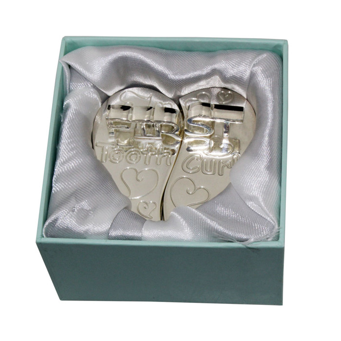 Heart-shaped Tooth Box and Curl Box