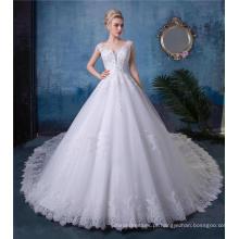 Vestido de casamento bordado vestido de noiva HA520