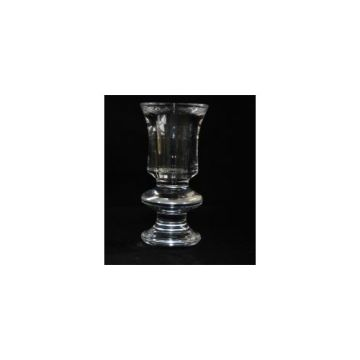 Glass Vintage Candlestick Large Mouth