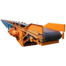 Rubber Belt Types Carbon Steel Structure Fixed Belt Conveyor