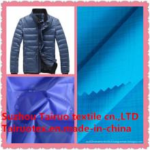 Tissu de nylon 100% avec downproof pour le tissu extérieur de sportswear
