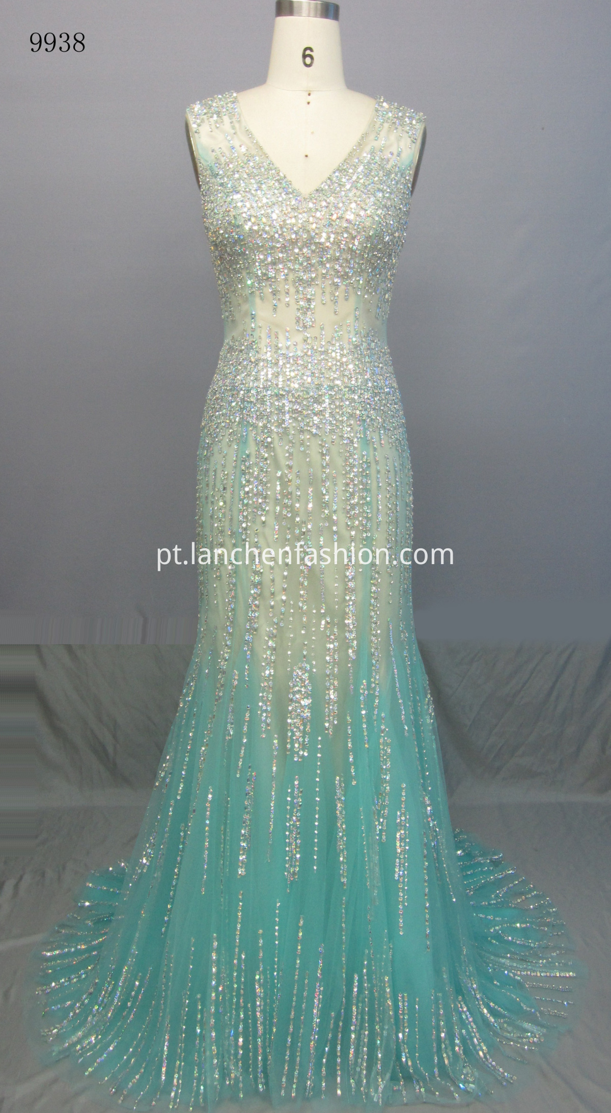 Sleeveless Mermaid Prom Dresses