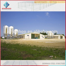 environmental controlled automatic steel prefabricated building poultry broiler house