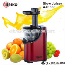 AJE338 150W orange slow juicer machine with GS approval
