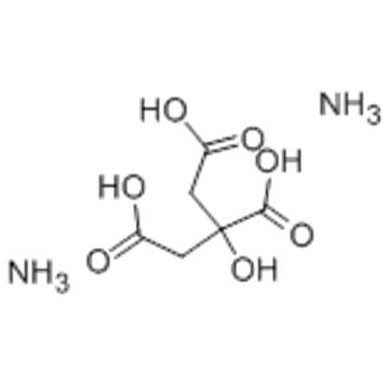 Ammonium citrate dibasic CAS 3012-65-5