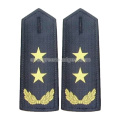 Star Epaulette with Buttonhole on the Top