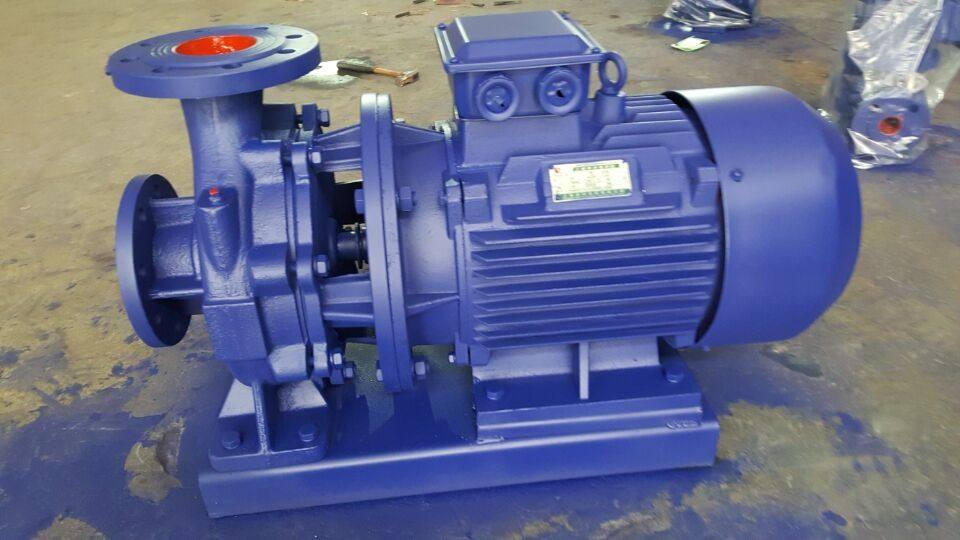 IHW stainless steel horizontal pipeline centrifugal pump 5