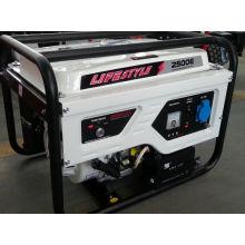 Preço portátil do gerador do gerador da gasolina de 2kw 5.5HP (estilo de vida 2500E)