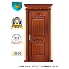 Classic Style Solid Wood Door with Carving for Interior (ds-8001)